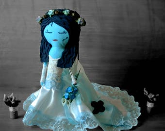Felt Corpse Bride corpse bride