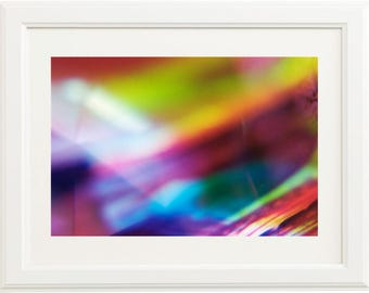 Abstract Multiple Exposure Print