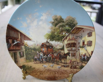 Vintage Commemorative Seltmann Weiden Plate
