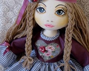 Handmade Dolls, Hippie Dolls