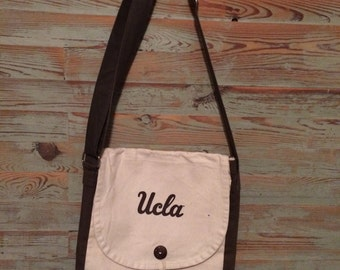 UCLA canvas tote bag