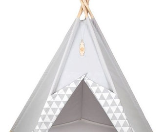 Tipi, Teepe, Tipi kids, Playtent, Kids tents, Wigwam, Zelt, Tent, tipi enfants, Yellow