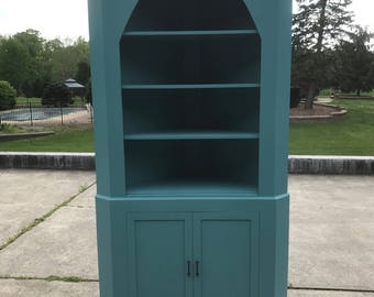 Corner Cabinet- Custom Sizes and colors.