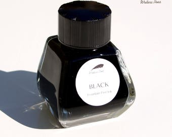 Fountain Pen Ink Bottle Black Permanent 30ml Suits all Fountain Pens Quality NEW