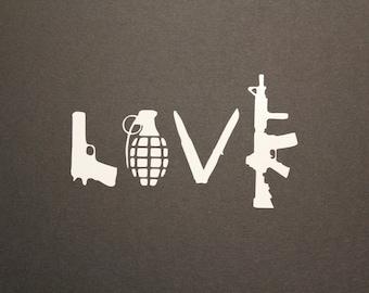 Love Decal, 2nd amendment