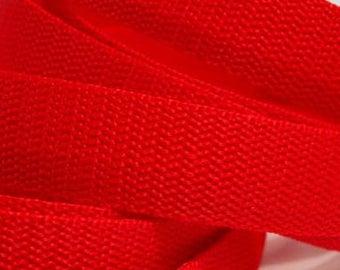 3 m belt bag belt 20 mm in red