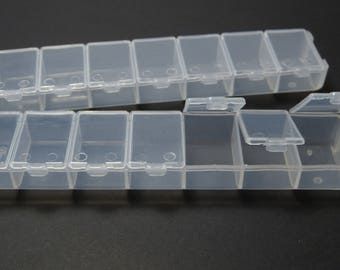 Sorting box bead box with transparent lid