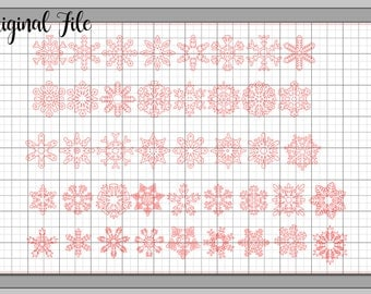 Snowflakes SVG for Silhouette