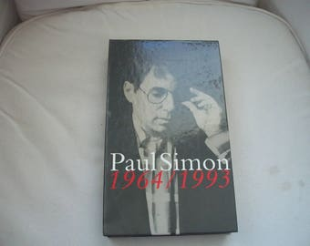 Paul Simon 1964/1993 Box Set CD's