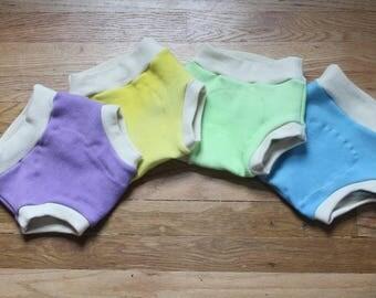 Wool Interlock Soaker, cusomizable cloth diaper cover