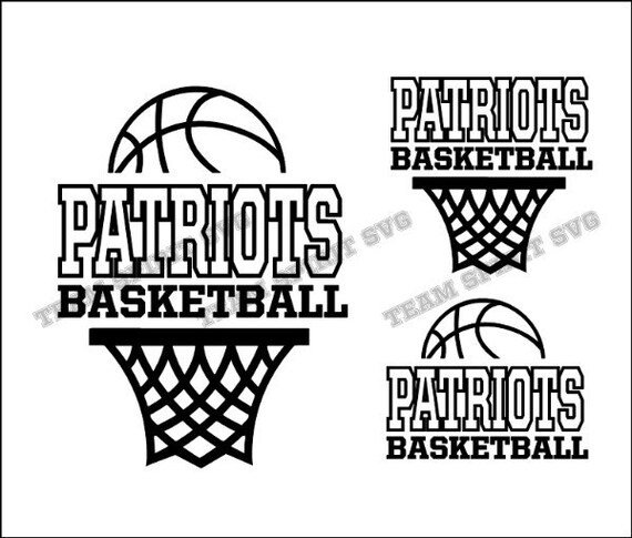 Patriots Basketball Net Download Files Svg Dxf Eps