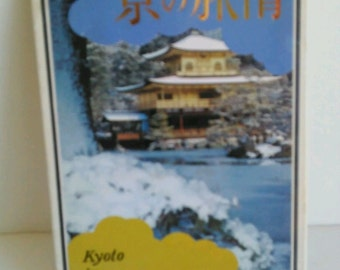 Kyoto, Japan Vintage Postcards Set