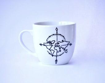 Coffee mug ADVENTURE 400 ml
