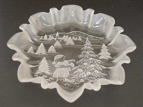 Mikasa Christmas Platter