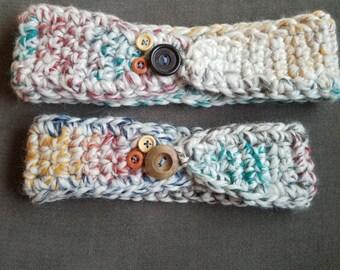 Mommy and Me Matching Headbands, crochet headbands, earwarmers