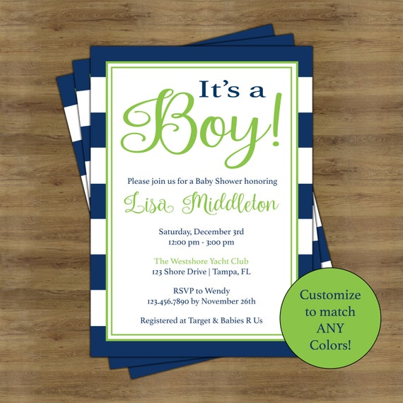 boy baby shower invitations for boys simple baby shower invitation