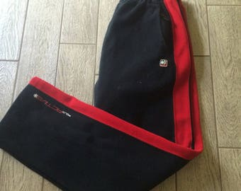 Vintage Ralph Lauren Polo Sweatpants Red and Black Polo Active Size Medium
