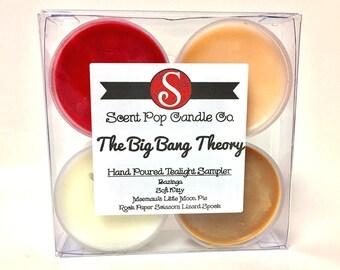The Big Bang Theory Tealight Sampler, Set of 4