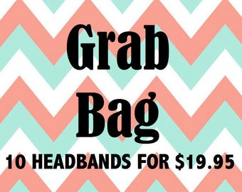 Grab Bag Sale/Baby Headbands/Newborn Headband/Girls Headband/Infant Headband/Headband Set/Baby Shower Gift/Baby Hair Bows/Headband Grab Bag