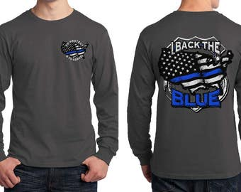 Back the Blue Long Sleeve