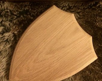 Handmade natural Baltic oak medium size board. Perfect for trophy hanging or taxidermy display