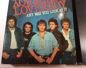 LOVERBOY- Any Way you Look at it- Vhs MUSIC VIDEO 1986 37 mins- Lovin' Every Minute of it, Working for the Weekend