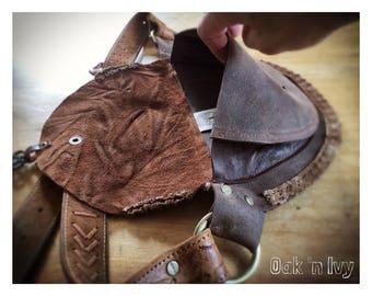 Hipbag - BASIC/LACE brown