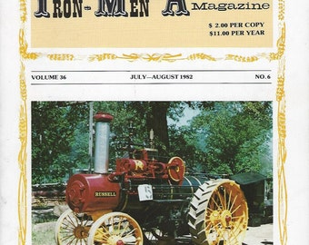 The Iron Men Album Magazine July-August 1982