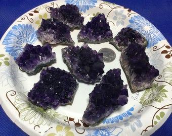 Amethyst Cluster,Dark Purple Amethyst Crystal Cluster from Uruguay High Quality,Healing Stones,Healing Crystals,Crystal Specimen,each piece
