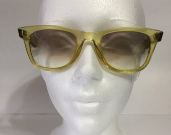 Esprit Sunglasses Vintage 7003 - Vintage Sunglasses - Yellow Sunglasses - Retro Sunglasses - Austria