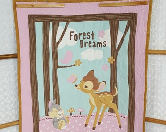 Forest Dreams Bambi Quilt **ON SALE**
