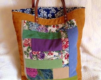 Shopper bag reversible