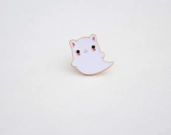 Kitty Boo ! Pins Ghost Cat