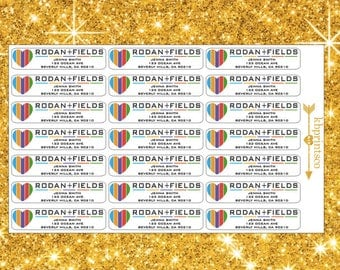 21 Glossy Rodan and Fields Return Labels