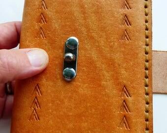 Native American Leather Journal, Thunderbird Journal, Thunderbird Tracks Journal, Spiritual journal, White Buffalo journal, leather notebook