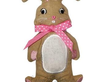 Plain Bunny from Easy ITH Stuffed Bunnies