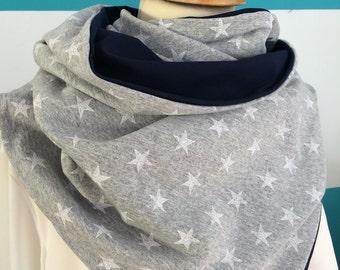 Wrap scarf star
