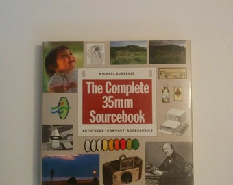 Vintage Photography Book The Complete 35mm Sourcebook by Michael Busselle 1989