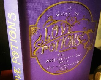 Love Potions Blank Book