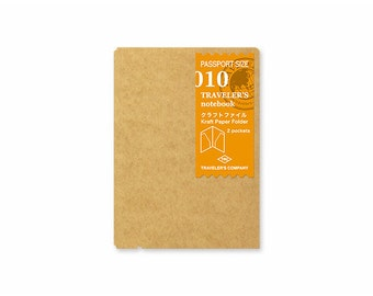 TN Accessory - Passport Size - 010 Kraft Paper Folder