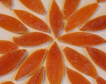 Plain or Chocolate Dipped Candied Orange Peels, shipping included with price