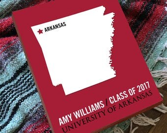Arkansas Razorback - University of Arkansas -  College Graduation Gift