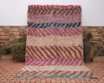 boucherouite rug vintage moroccan berber rugs