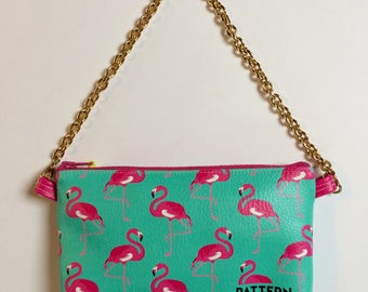 Pouch pocket with chain travellovebag love Miami