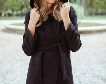 Morgana Coat - Black Coat