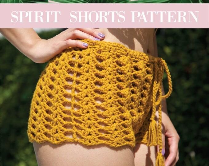 Featured listing image: SPIRIT shorts pattern