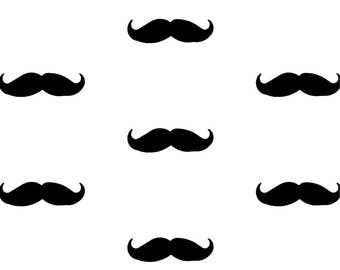 Moustache Wall Decals~  Wall Decals~Hipster Stickers~ Moustache Stickers~ Hipster Decor~ Wall Stickers ~Nursery Wall Stickers~ Nursery Decor