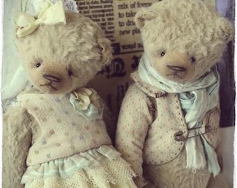 Pattern Teddy bears 18cm in PDF