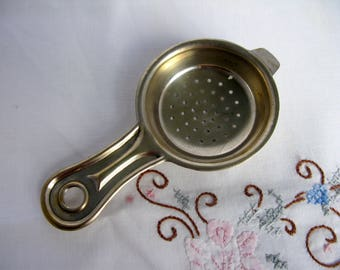Mid Century / Swedish / Tea Strainer / 1950,s / Vintage / Steel Tea Strainer / Art Deco / Tea / Serving Utensils / Scandinavian / Farmhouse