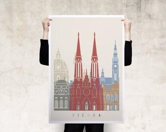 Vienna Travel Poster